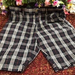 Volcom plaid shorts